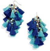 BaubleBar Women's Rosalita Tassel Drop Earrings