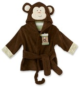 Baby Aspen Born to Be Wild Monkey Hooded Spa Robe