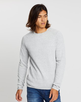 Jack and Jones Hill Knit Crew Neck Jumper