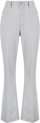 MM6 MAISON MARGIELA High-Rise Flared Trousers