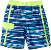iXtreme Royal Wave Stripe Swim Trunk - Infant & Boys