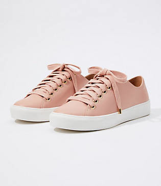 LOFT Lace Up Sneakers