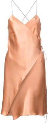 Mason by Michelle Mason Wrap Mini Dress