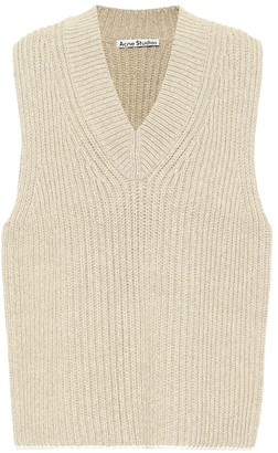 Acne Studios Ribbed-knit sweater vest