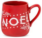 """Threshold Noel"""" 14oz Stoneware Mug Red"""