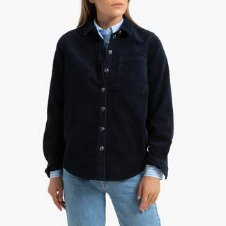 Only Corduroy Long-Sleeved Shirt