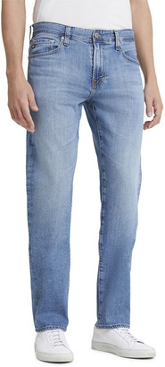 AG Adriano Goldschmied Men's Protege Straight-Leg Light-Wash Jeans