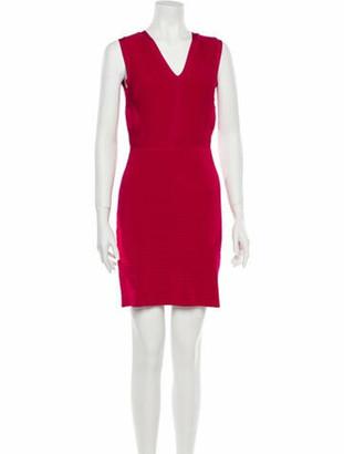 Issa V-Neck Mini Dress w/ Tags Pink