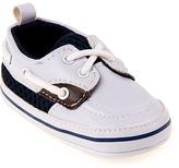 Joseph Allen White Boat Shoe