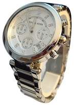 Michael Kors MK5275 Women's Glitz Rare Tone Stainless Steel Bracelet Chronograph Watch