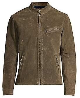 Polo Ralph Lauren Men's Suede Racer Jacket