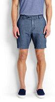 modern Men's Chambray Shorts-Indigo Chambray