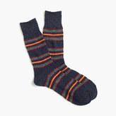 Anonymous IsmTM blanket stripe socks