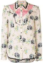 Coach printed blouse