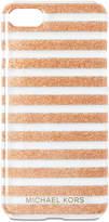 MICHAEL Michael Kors Glitter-Stripe iPhone 7 Case