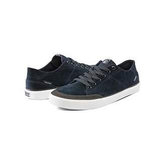 Volcom Men's LEEDS Suede Vulcanized Skate Shoe