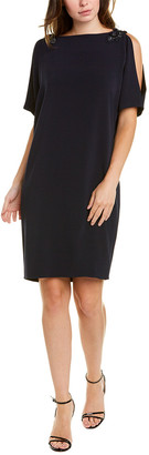 Teri Jon By Rickie Freeman Embellished Shift Dress