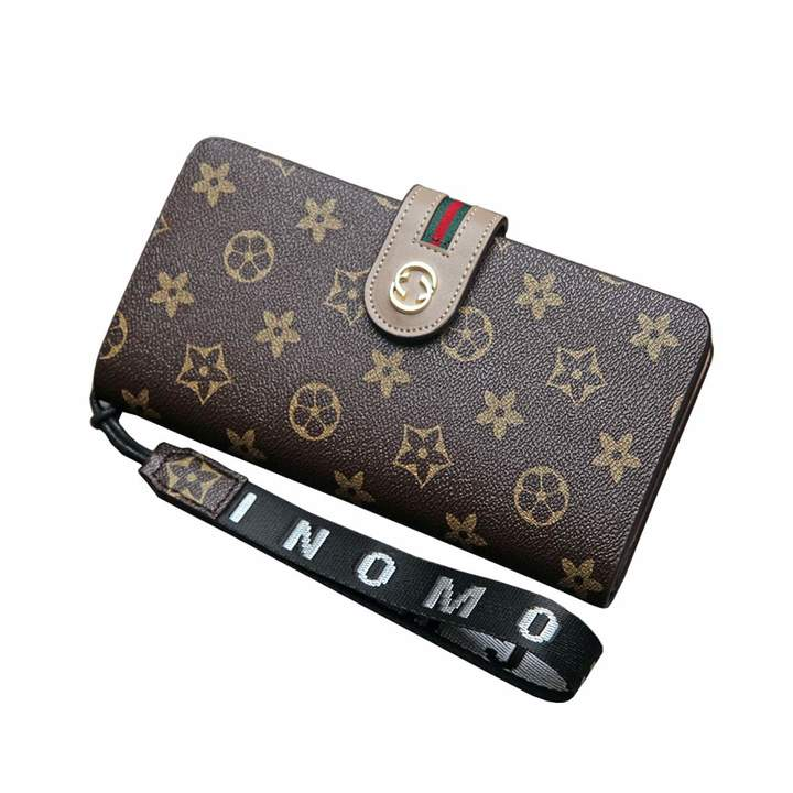 b94497f960ff LXJ Women Wallet Leather Credit Card Holder Large Capacity Money Clip Purse  for Lady