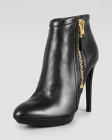 Tom Ford Outside-Zip Ankle Bootie