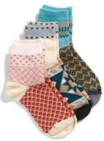 Free People Women's Triple The Fun 3-Pack Socks