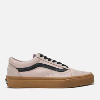 Vans Women's Old Skool Gum Trainers - Shadow Grey/Prune