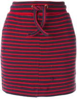 Zoe Karssen striped mini skirt - women - Cotton - S