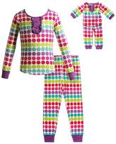 Dollie & Me Girls 4-14 Dot Pajama Set