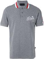 Philipp Plein NY print polo shirt - men - Cotton - L