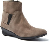 Amalfi by Rangoni Dark Taupe Nobile Ankle Boot