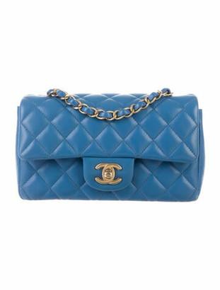 Chanel New Mini Flap Bag Blue