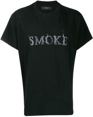 Amiri printed 'smoke' T-shirt