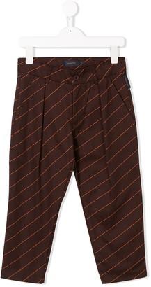 Tiny Cottons Diagonal Stripe Trousers