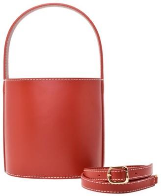 STAUD Bissett Leather Bucket Bag