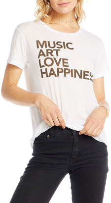 Chaser Happiness Short-Sleeve Graphic Tee