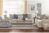 """Thumbnail for your product : Winston Porter Southampton 97"""" Round Arm Sofa with Reversible Cushions"""