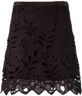 See by Chloe floral embroidered skirt