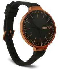 RumbaTime Orchard Gold Lights Out Black Women's Watch