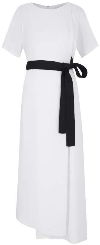 Amanda Wakeley Light Midnight Belted Dress