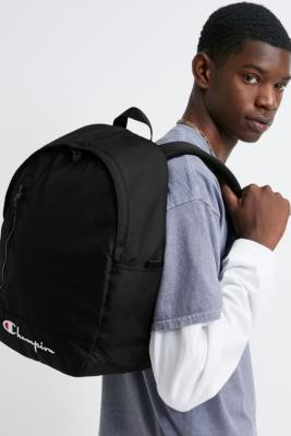 Champion Black Backpack - Black ALL at Urban Outfitters