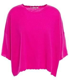 Autumn Cashmere Distressed Cashmere Top