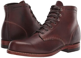 Wolverine Heritage Original 1000 Mile 6 Boot (Brown Leather) Men's Work Boots
