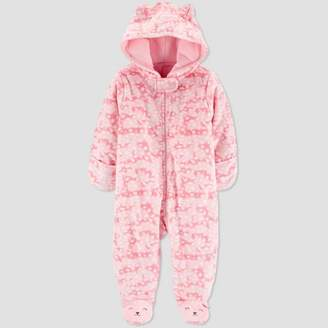 Carter's Just One You made by carter Baby Girls' Pram Cat Overcoat Jacket - Just One You® made by Pink