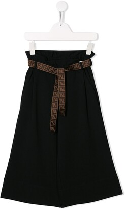 Fendi Paperbag Waist Trousers