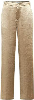 Vince Hammered-satin straight pants