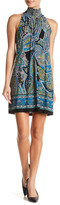 Robbie Bee Sleeveless Print Dress