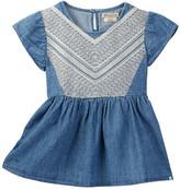 Lucky Brand Embroidered Chambray Mixer Shirt (Little Girls)