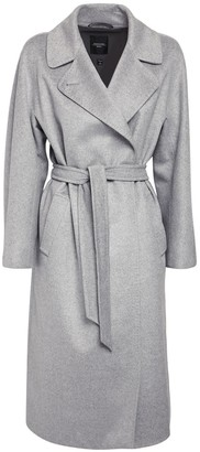 Max Mara Wool Double Breasted Long Coat