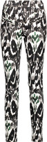 Isabel Marant Nella printed stretch-cotton skinny pants