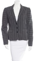 Mayle Notch Lapel Jacquard Blazer