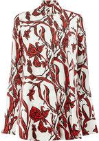 Ellery floral print shirt - women - Silk/Spandex/Elastane - 10